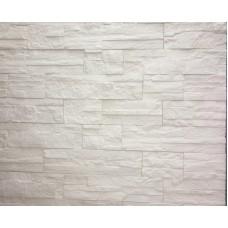 Плитка гипсовая Сланец Белый